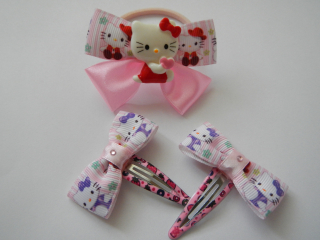 Set sponiek - Hello Kitty ružový